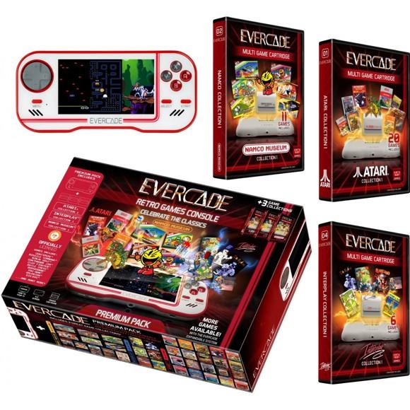 Blaze Evercade Premium Pack +3 Vol 1 White - EFIGS