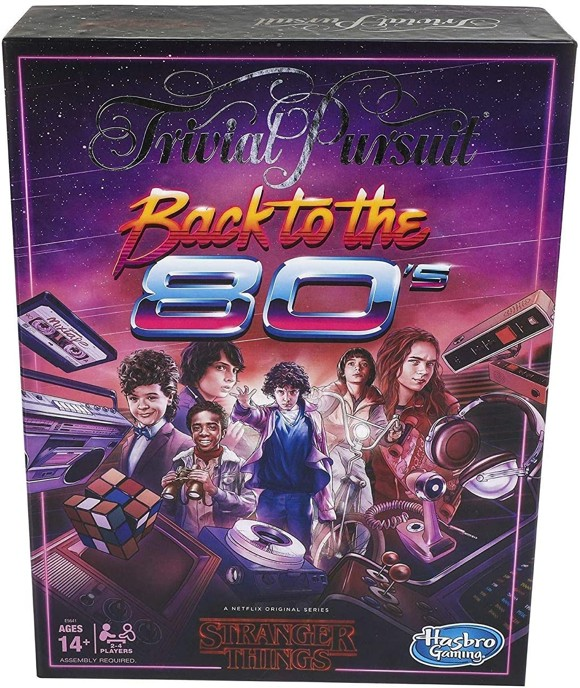 Trivial Pursuit - Stranger Things Back to the 80's (Engelsk)