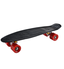 Playfun - Lille Skateboard - Sort