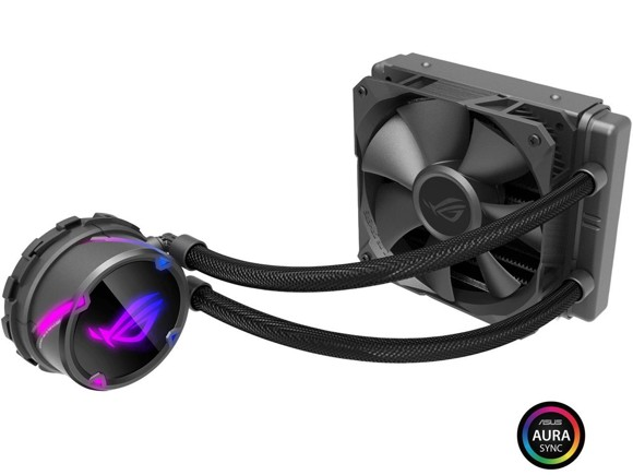 Asus - Rog Strix LC 120 all-in-one liquid CPU cooler