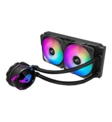 Asus - Rog Strix LC 240 RGB all-in-one liquid CPU cooler with Aura Sync