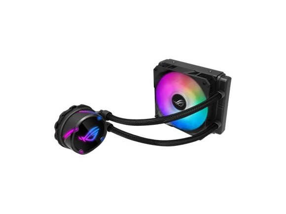 Asus - Rog Strix LC 120 RGB all-in-one liquid CPU cooler with Aura Sync