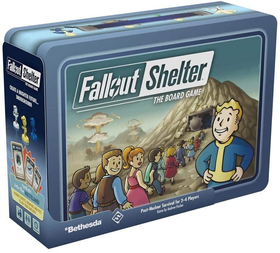 Fallout Shelter - Brætspillet