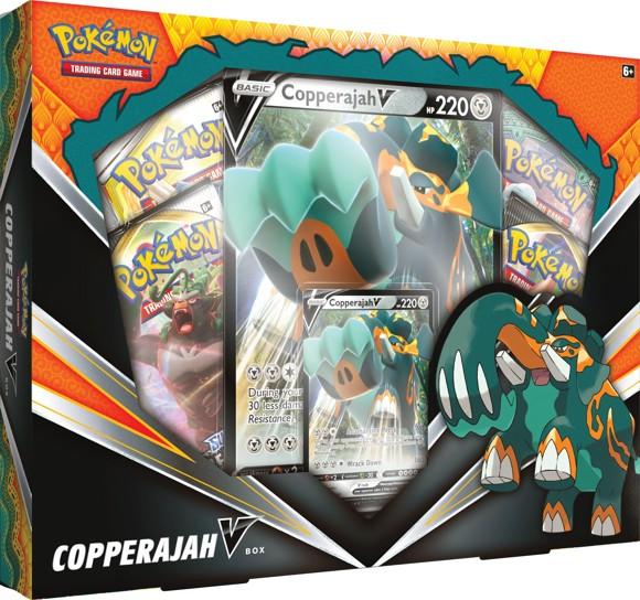 Pokemon - Copperajah Rebel Clash - V Box (Pokemon Cards) (POK80711)