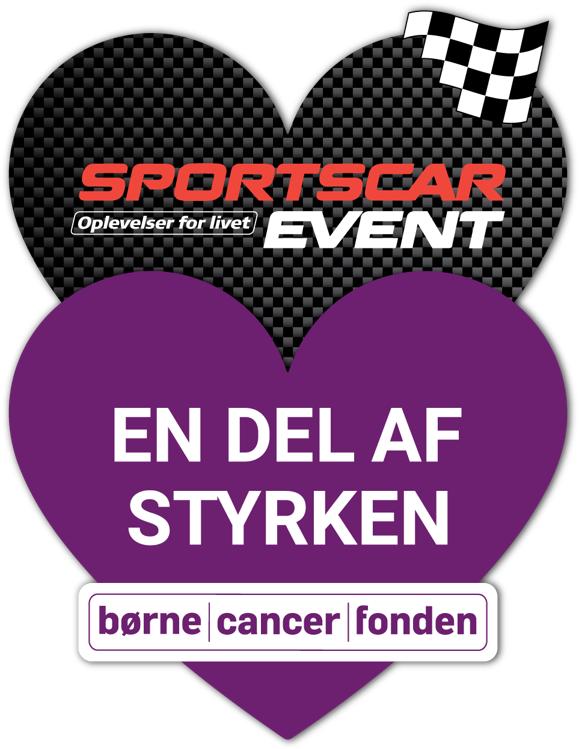 Velgørenhed Klistermærke - SportsCarEvent