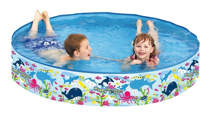 Flipper - Sea World Rigid Swimming Pool, 150 x 25 cm (21304)