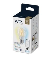 WiZ - Filament A60 Transparente Glühlampe E27 Einstellbares weißes Licht