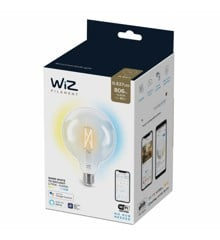 WiZ - G125 Clear globe E27 Tunable white