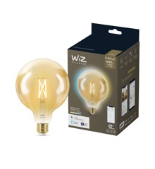 WiZ - G125 Amber Globe E27 Tunable white - Smart Home