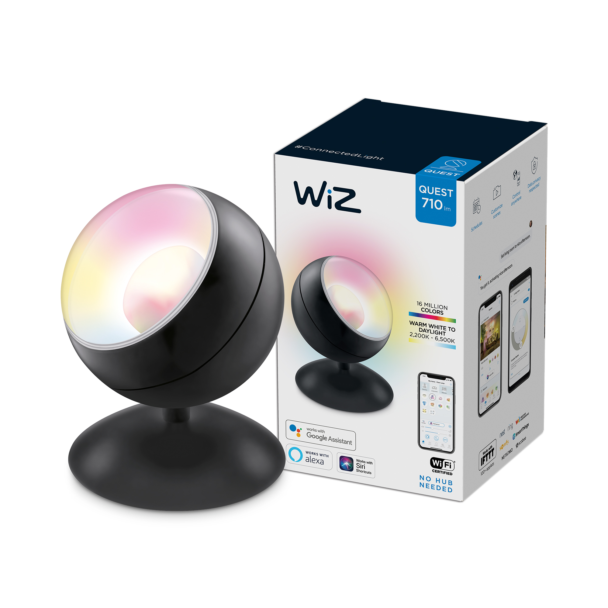 WiZ -Wi-Fi Portable Quest black