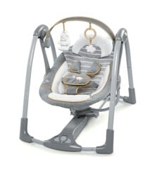Ingenuity - Boutique Collection - Swing 'n Go Portable Swing - Bella Teddy (11023)