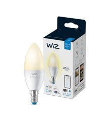 WiZ - Single Bulb C37 E14 White Color - Smart Home