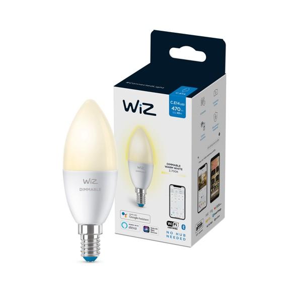 WiZ - Single Bulb C37 E14 White Color - Smart Home
