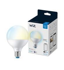 WiZ - G95 Kugellampe E27 Einstellbares weißes Licht