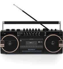 Ghettoblaster - Radio, USB, Kassette bånd