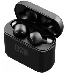 DON ONE Lifestyle - TWS120 (Sort)  -  In-ear True Wireless Stereo-øretelefoner med ladeetui
