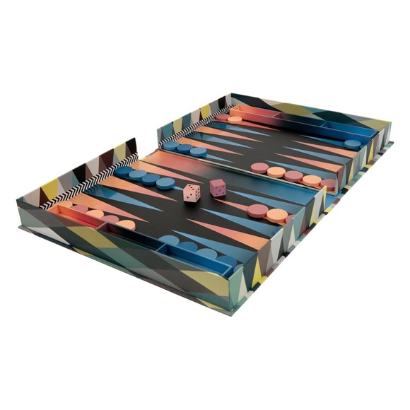 Mudpuppy - Backgammon by Christian Lacroix
