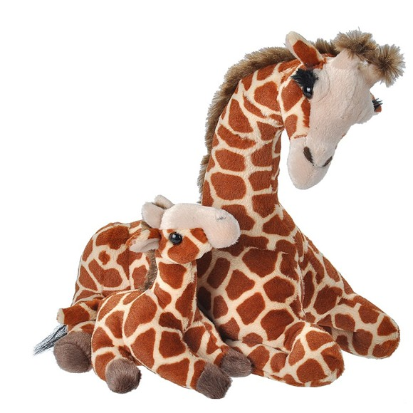 Wild Republic - Giraffe - Mom & Baby (19397)