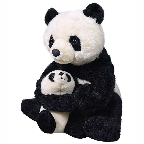 Wild Republic - Panda - Mom & Baby (19398)
