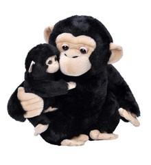 Wild Republic - Mor og barn - Chimpanse (24091)
