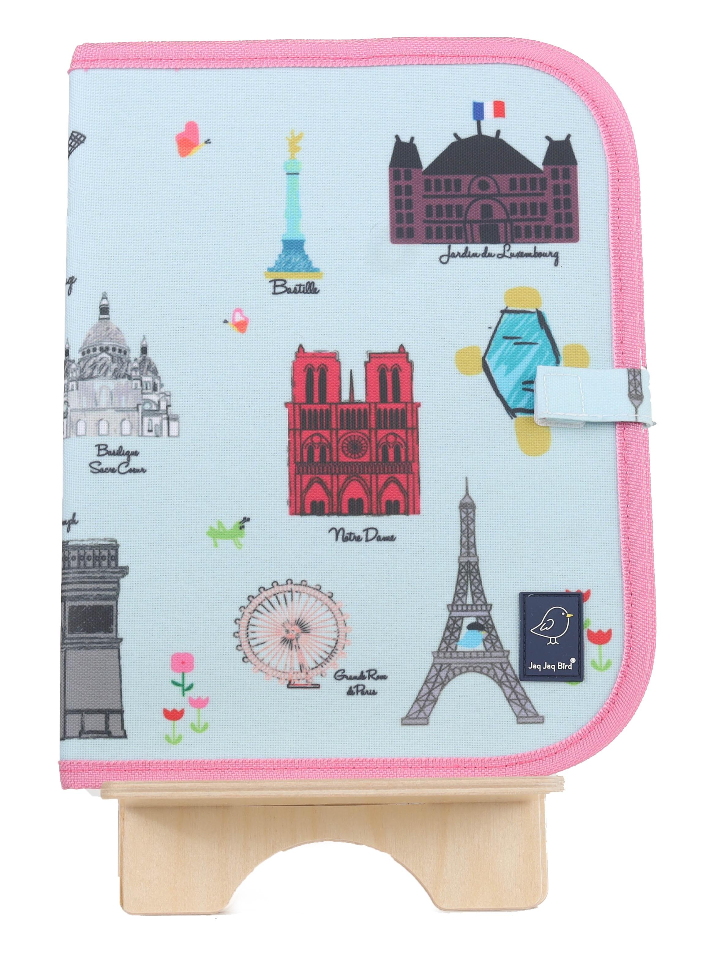Jaq Jaq Bird - Doodle It & Go Mat - Paris (J-CM-PARIS-292)
