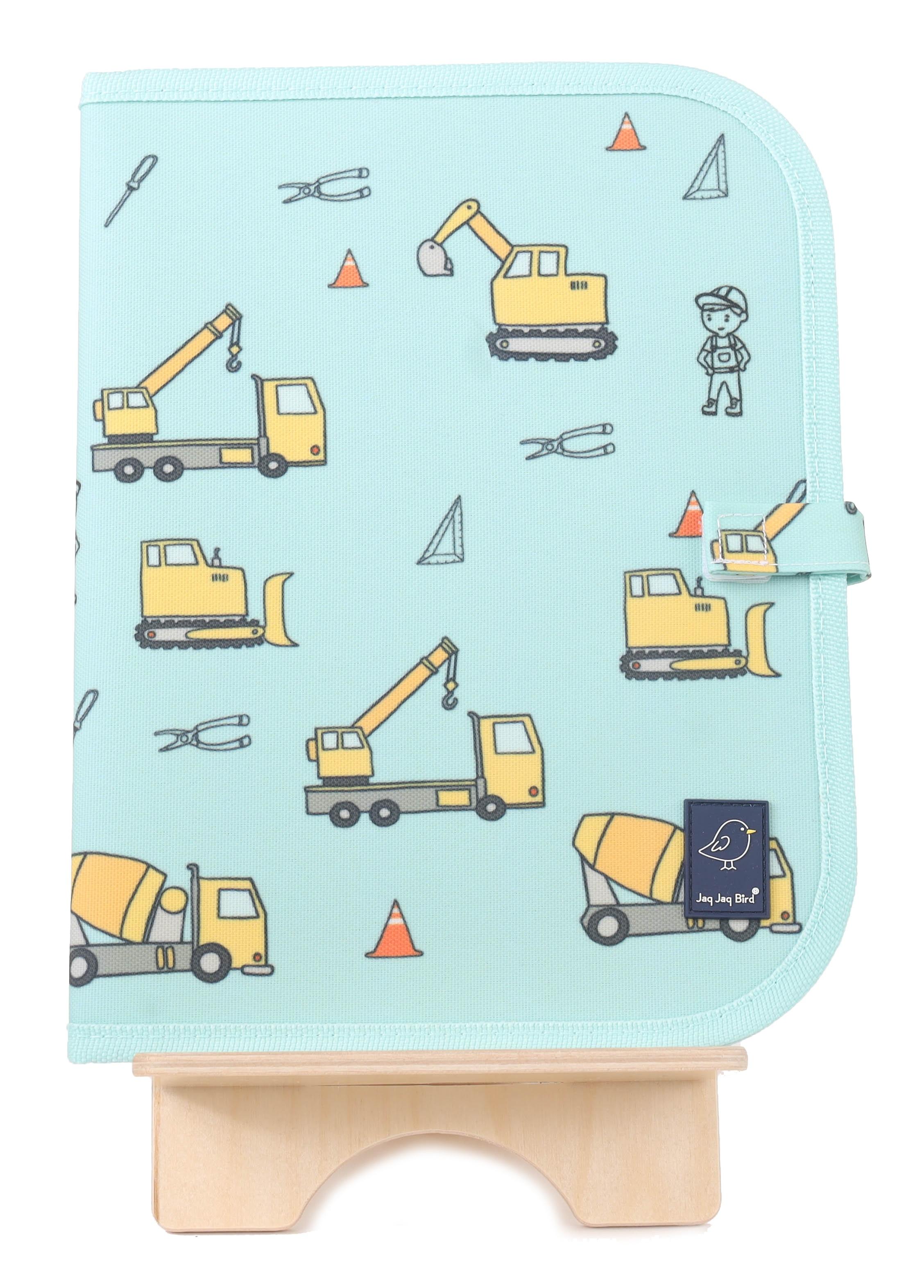 Jaq Jaq Bird - Doodle It & Go Mat - Construction (J-CM-CONSTRUCTION-315)