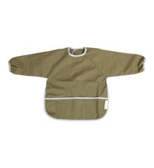 Filibabba - Bib with sleeves, Olive Green