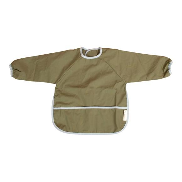 Filibabba - Bib with sleeves, Olive Green
