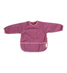 Filibabba - Bib with sleeves, Plum