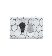 Cloby - Gaveæske med svøb og  magnetiske Læder Clip, Sort