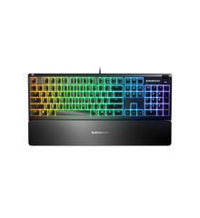Steelseries - Apex 3 Gaming Keyboard - Nordic Layout - Water Resistant