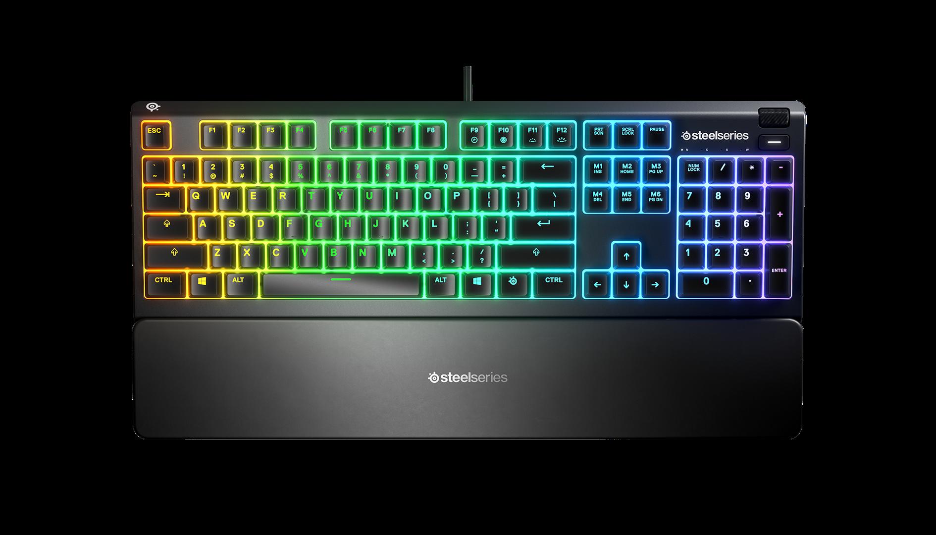 Steelseries - Apex 3 Gaming Tastatur- Nordic Layout