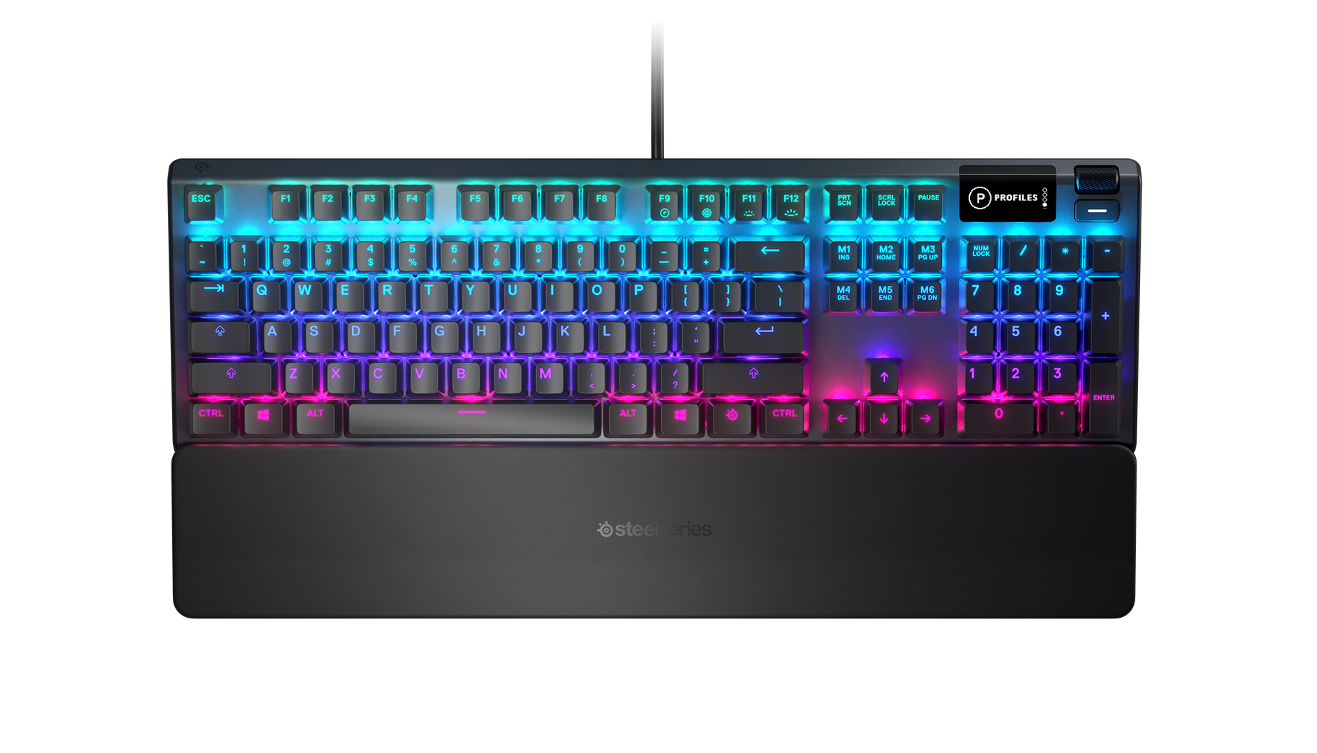 Steelseries - Apex 5 Hybrid Mechanical Gaming Keyboard - Nordic Layout