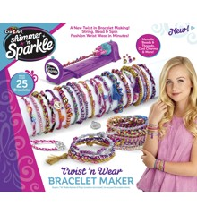 Shimmer 'n' Sparkle - Twist'N'Wear Bracelet Maker (20-00219)