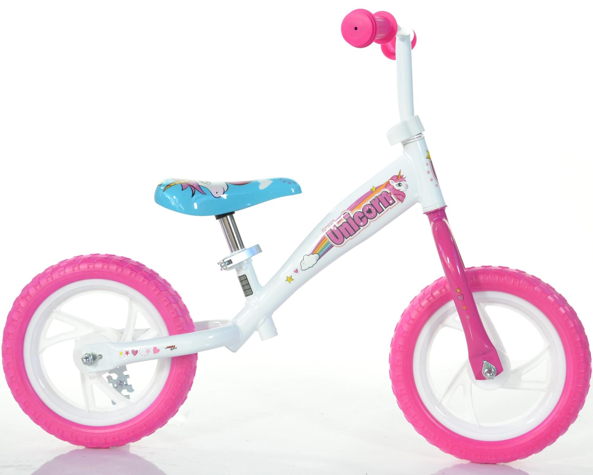 Billede af Dino Bikes - 12'' Løbecykel - Enhjørning