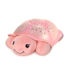 Cloud B - Twinkling Twilight Turtle Skildpadde Natlampe, Pink (CB7323-T2P)