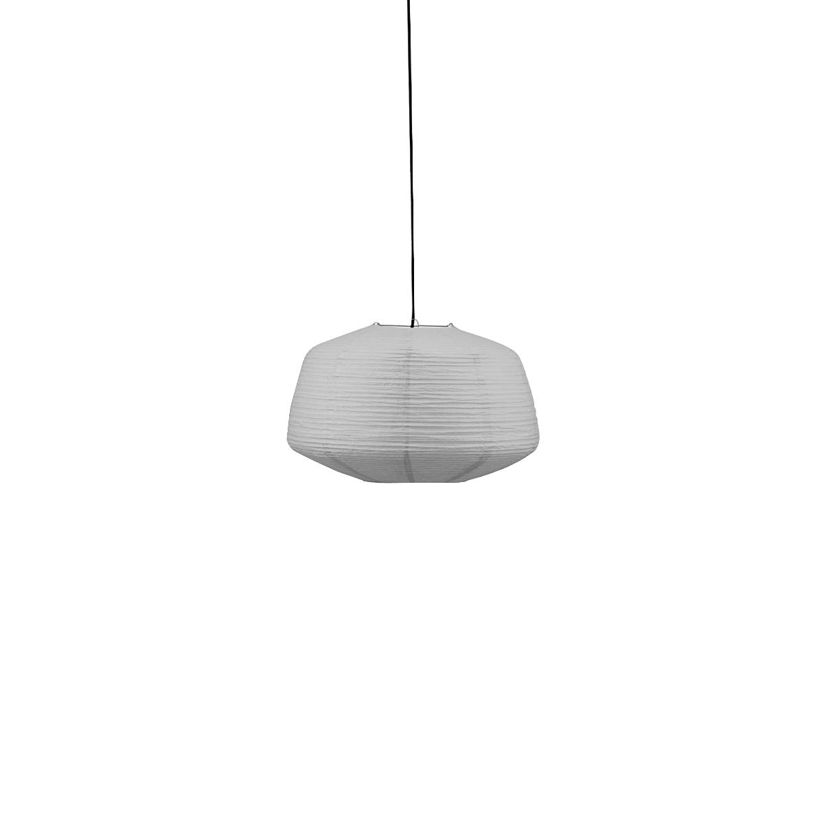 House Doctor - Bidar Lamp Shade Ø 50 cm - Grey (259370111)