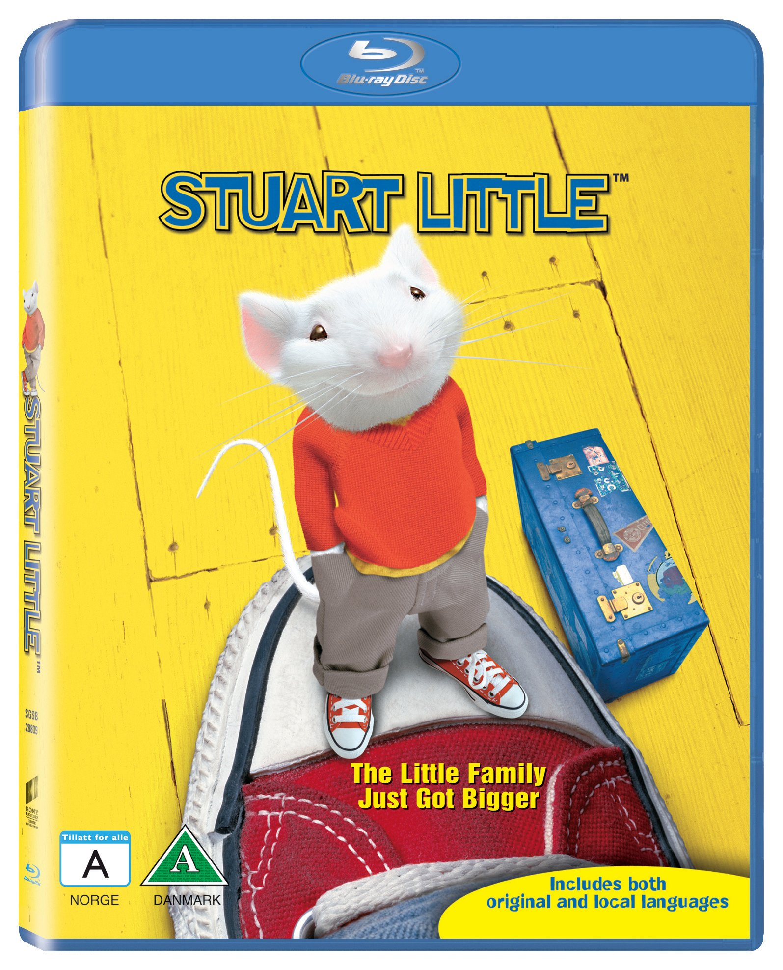 Stuart Little 1 - Blu Ray