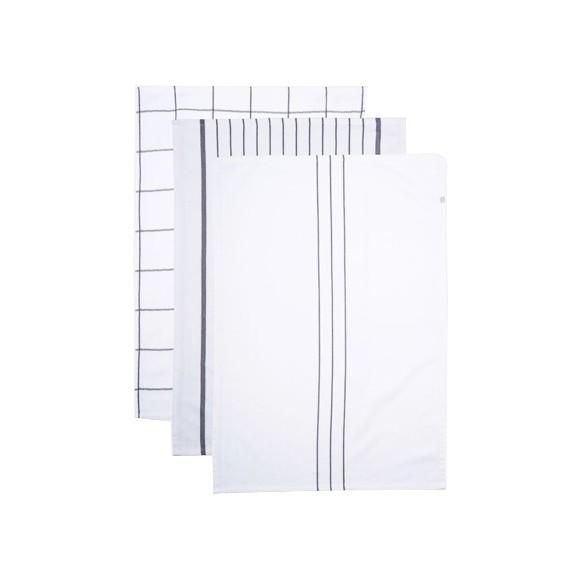 House Doctor - Opa Tea Towels - White (204031021)