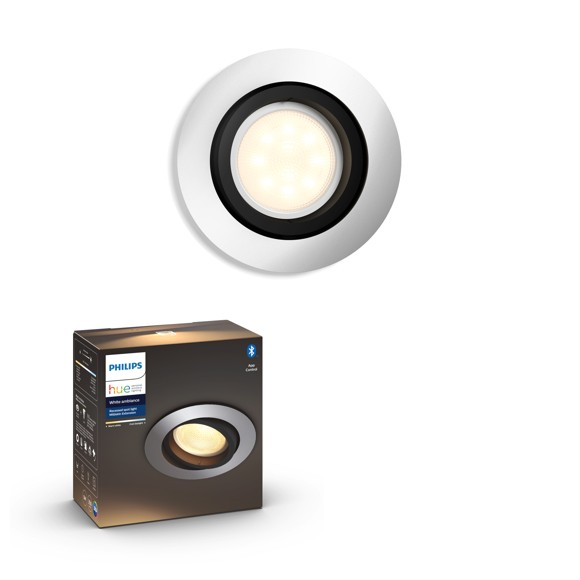 Philips Hue - MILLISKIN recessed - White Ambiance - Bluetooth