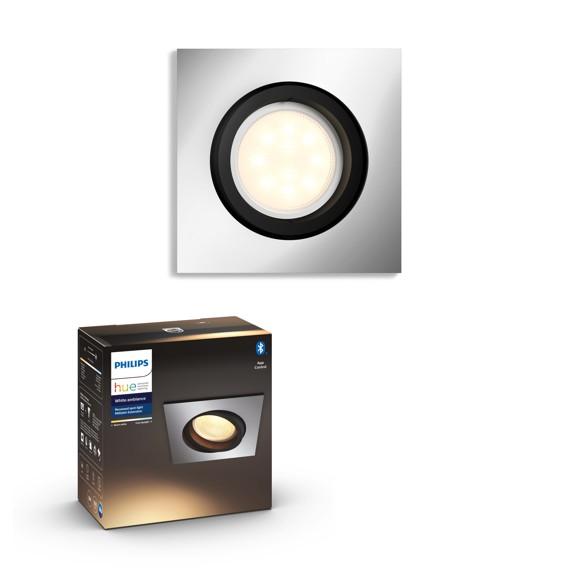 Philips Hue - MILLISKIN recessed - White Ambiance - Bluetooth