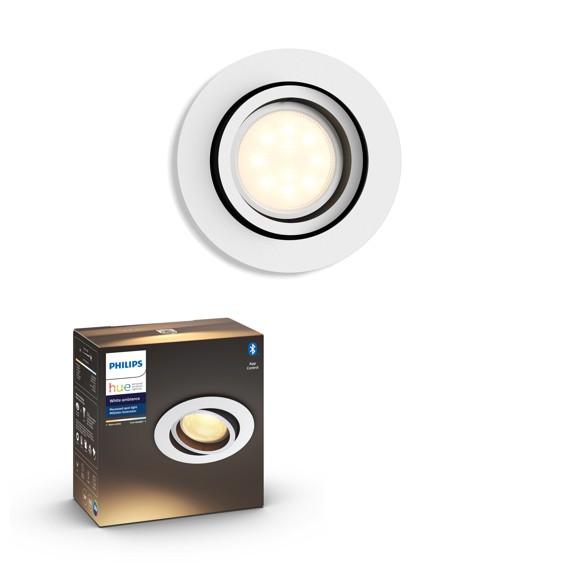 Philips Hue - MILLISKIN recessed - White Ambiance - Bluetooth - E