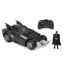 Batman - R/C Fjernstyret Bil - Launch & Defend Batmobile
