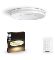 Philips Hue - Connected Being Hue Ceiling Lamp White Ambiance  - Bluetooth - White - E