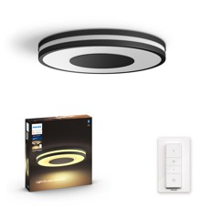 Philips Hue - Connected Being Hue Ceiling Lamp White Ambiance  - Bluetooth - Black - E
