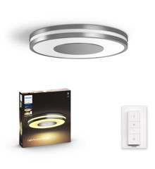 Philips Hue - Connected Being Hue Ceiling Lamp White Ambiance  - Bluetooth - Aluminium - E