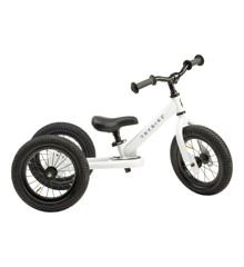 Trybike - 3 hjulet Løbecykel, Hvid