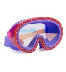 Bling2o - Svømmemaske, Hindbær hjerter (602556)