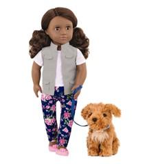 Our Generation - Malia dukke med hund (761001)