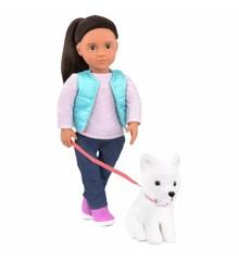 Our Generation - Cassie dukke med hund (731243)